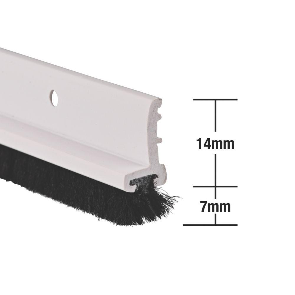 Image of Stormguard Door & Window Strips White 1.05m 5 Pack