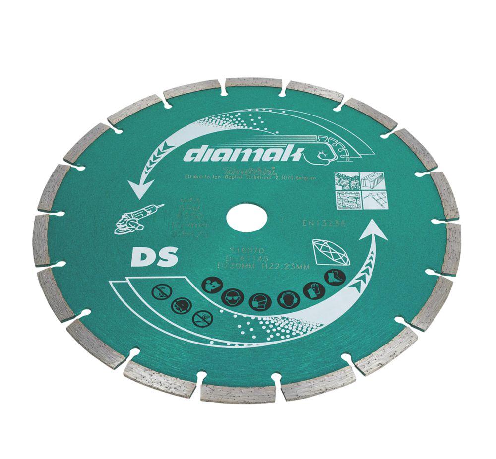 Image of Makita Segmented Diamond Blade 230 x 22.23mm