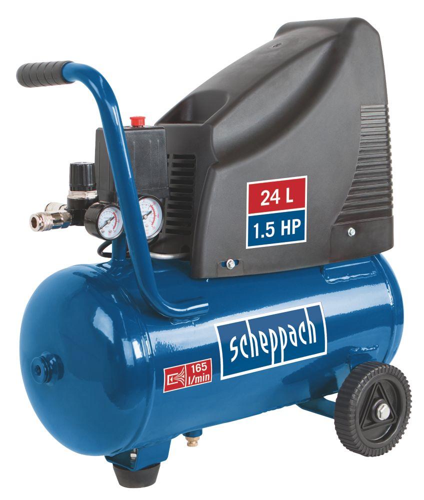 Image of Scheppach HC25-O 24Ltr Oil-Free Compressor 230V