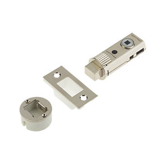 Image of Union Satin Nickel-Plated Tubular Privacy Bolt 60mm Case - 44mm Backset