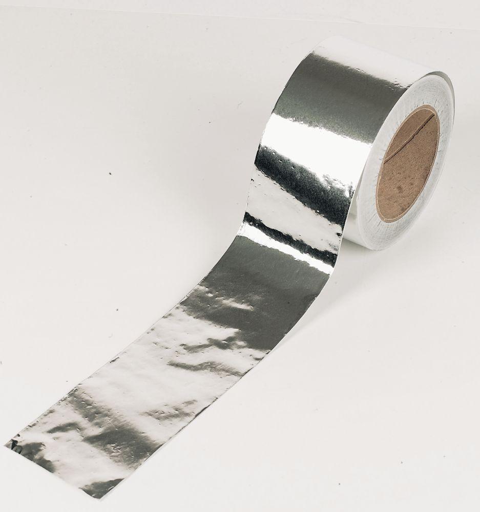 Image of Aluminium Foil Tape Silver / Aluminium 96mm x 45m