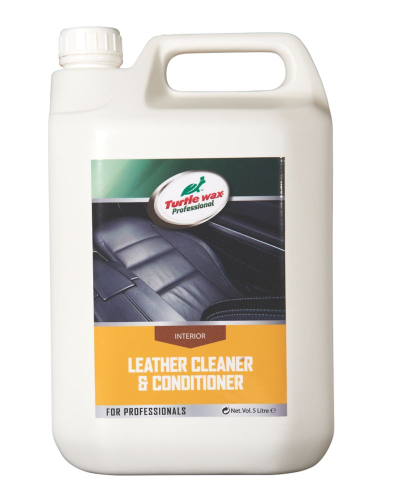 Image of Turtle Wax Leather Cleaner & Conditioner 5Ltr