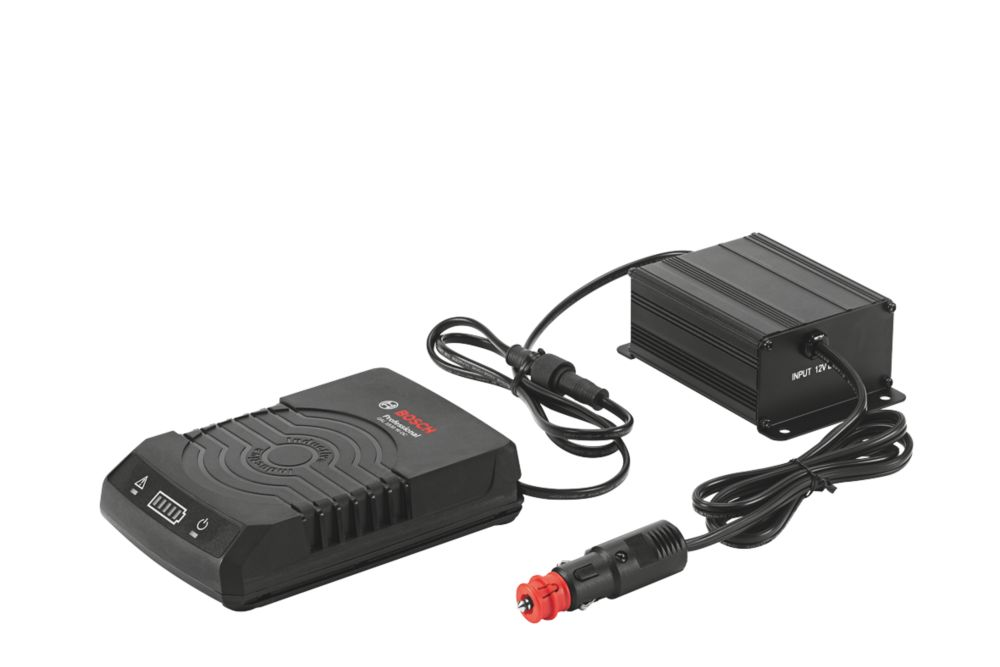 Image of Bosch GAL 1830 W-DC In-Car Power Tool Battery Charger