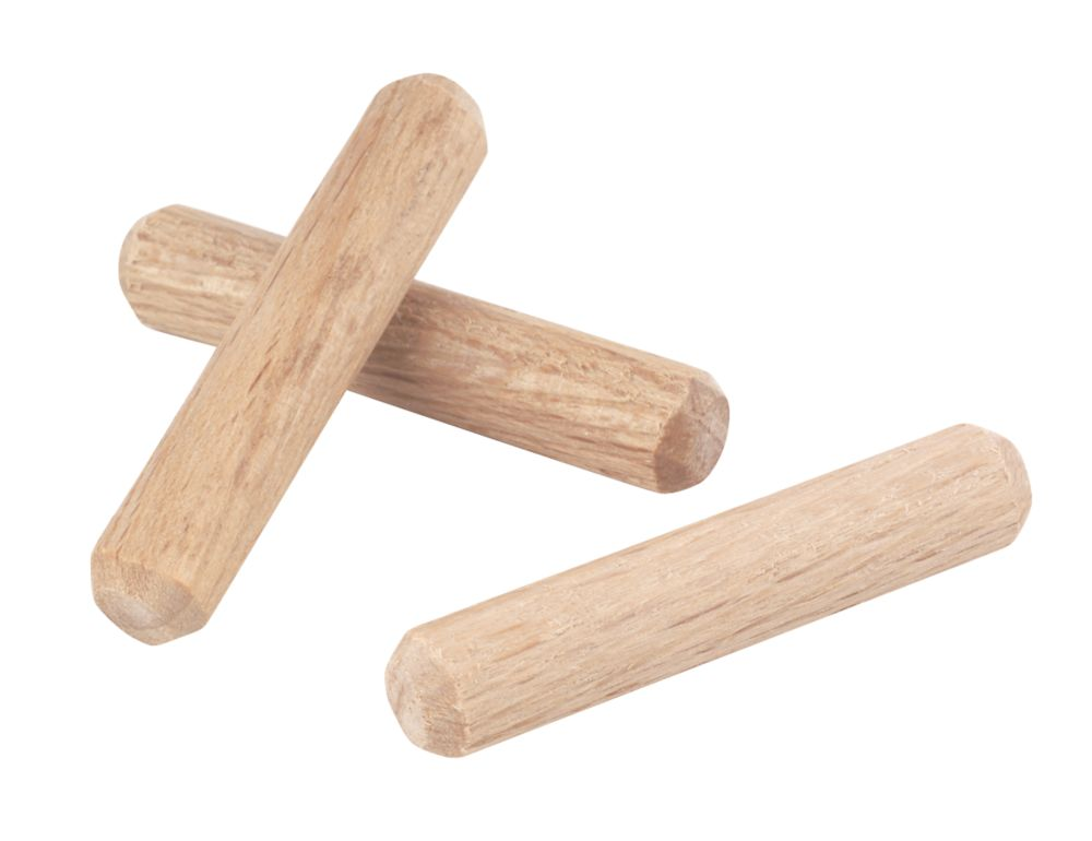 Image of Easyfix Precision Multi-Grooved Dowel Pins 6 x 30mm 100 Pack