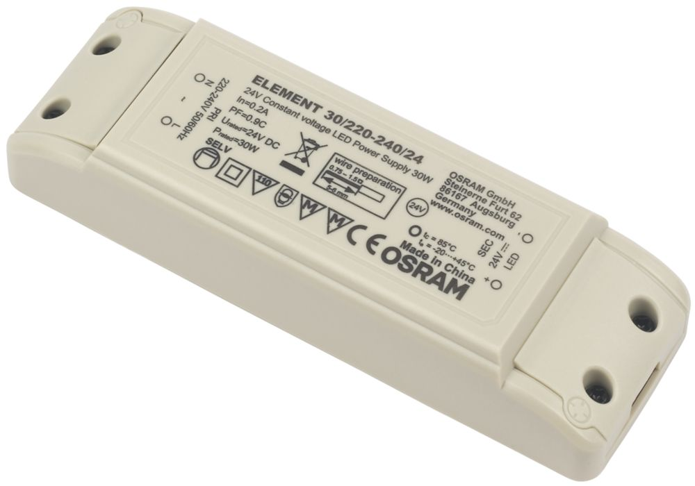 Image of Osram 240V Constant Voltage Driver 30W