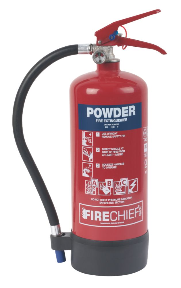 Image of Firechief Dry Powder Fire Extinguisher 3kg