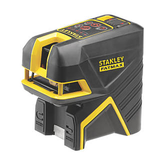 Image of Stanley FatMax FMHT1-77414 Red Beam Cross Line and 2-Spot Laser Level