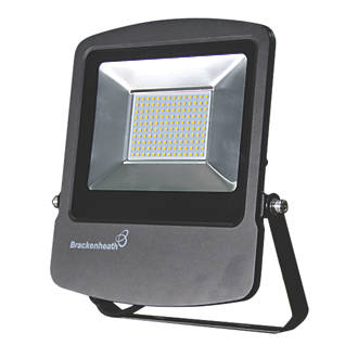 Image of Brackenheath Rex LED Industrial Floodlight 100W Black Cool White
