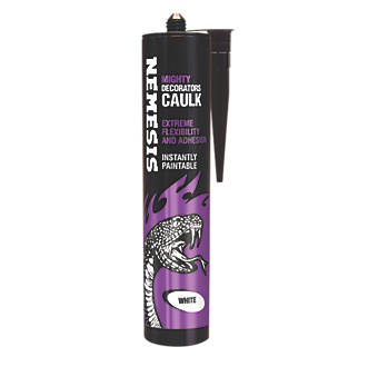Image of Nemesis Mighty Decorators Caulk White 310ml