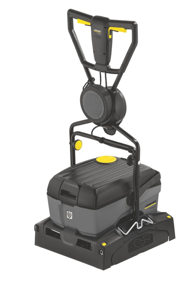 Image of Karcher BR40/10 10Ltr Compact Floor Scrubber Drier 110V