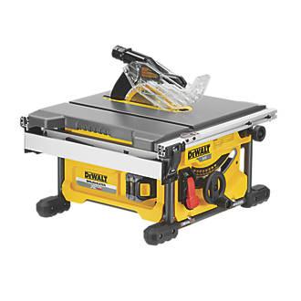 Dewalt dw745 lx 250mm table saw 110v table saws screwfix dewalt dcs7485t2 gb 54v 60ah li ion xr flexvolt 210mm brushless cordless table greentooth Images