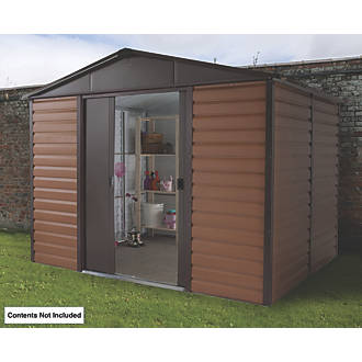Image of Yardmaster Sliding Door Apex Shed 10 x 8 x 8'