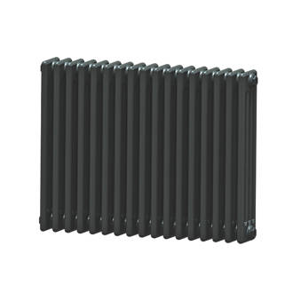 Image of Acova 4-Column Horizontal Radiator 600 x 812mm Volcanic