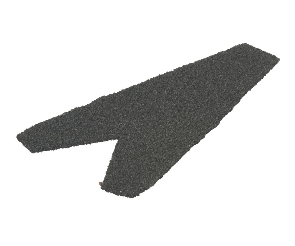 Image of Corotile End Cap Charcoal 180 x 165mm