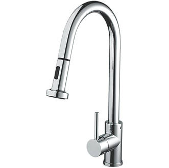 Image of Bristan Apricot Pull-Out Mono Mixer Chrome