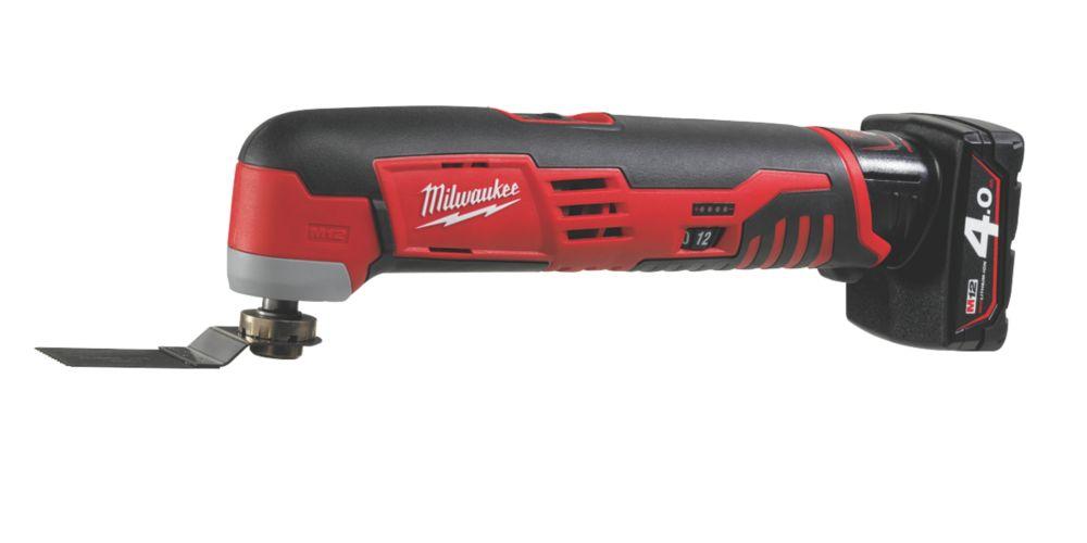 Image of Milwaukee C12MT-402B 12V 4Ah Li-Ion RedLithium Cordless Multi-Tool