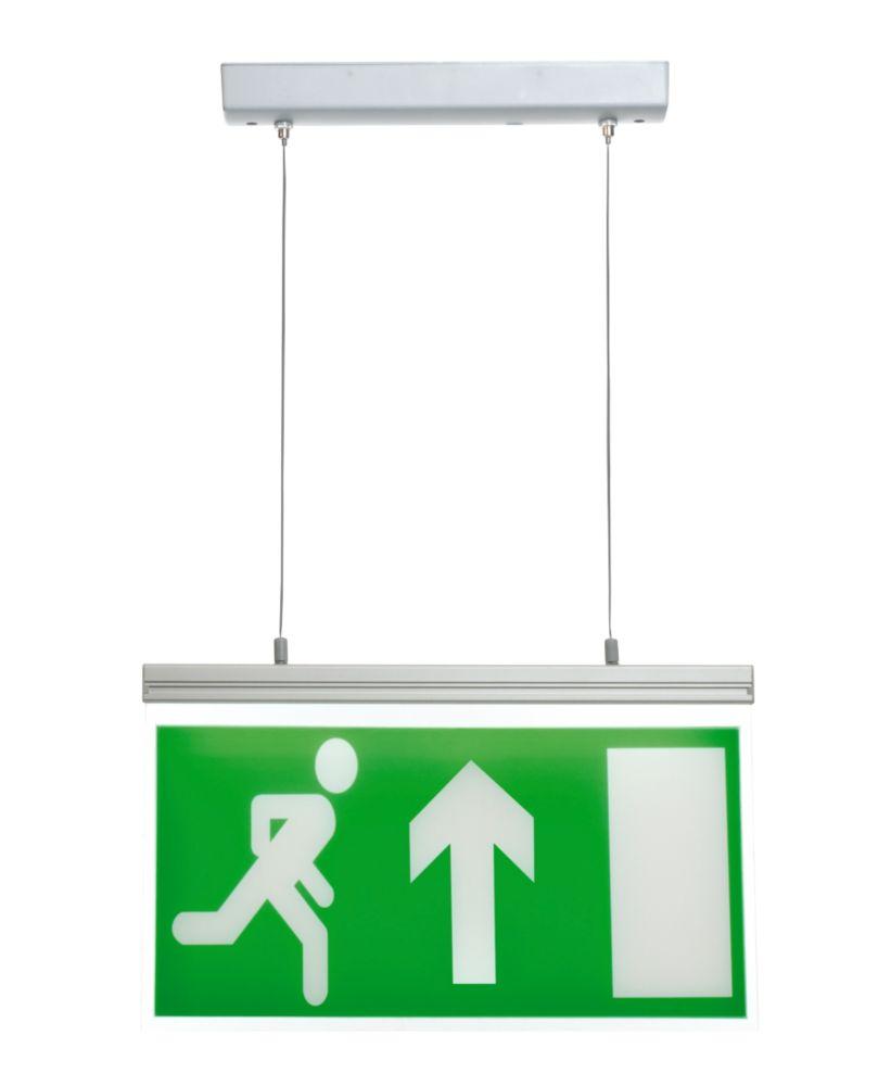 Image of LAP 3 Hour Emergency Lighting Hanging LED Exit Sign