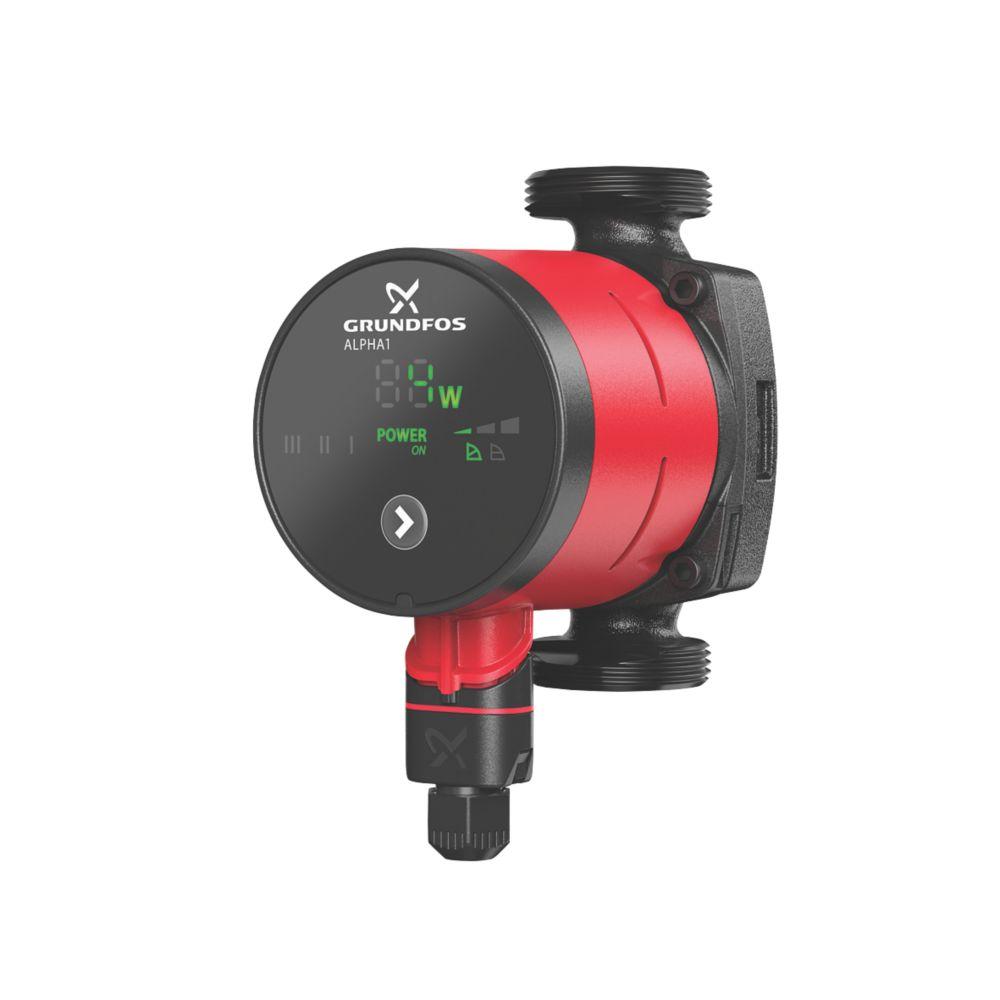 Image of Grundfos Alpha 1 15-50/60 Domestic Heating Circulator 230V