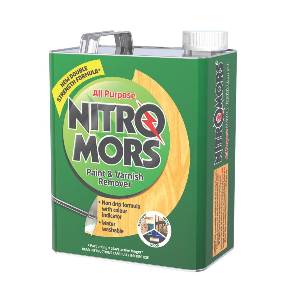 Image of Nitromors All-Purpose Paint & Varnish Remover 4Ltr