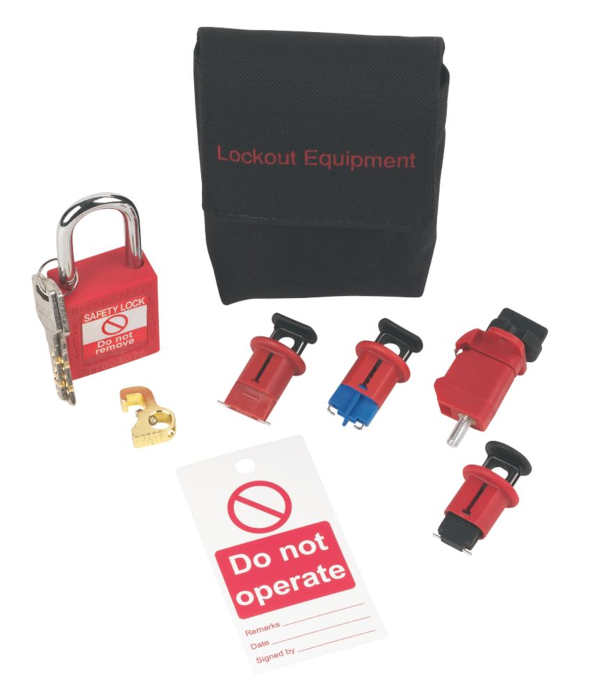 Image of Brady Safe Isolation Lockout Kit
