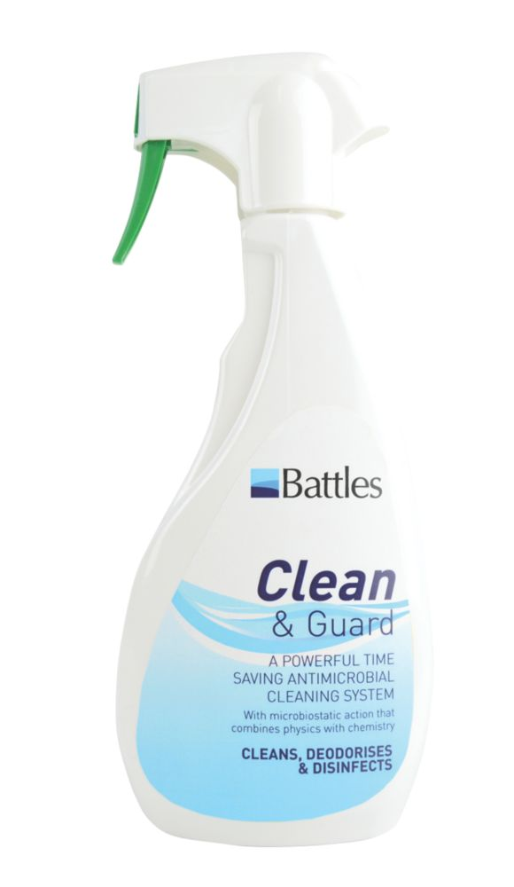 Image of Battles Clean & Guard Antimicrobial Cleaner 500ml