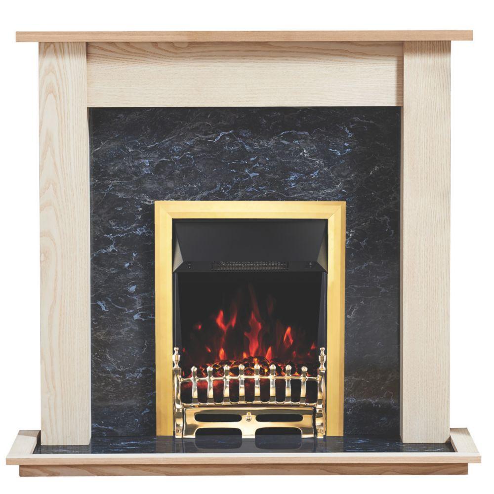 Image of Focal Point Blenheim Electric Suite Ash Veneer