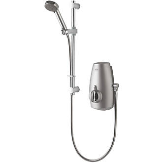 Image of Aqualisa Aquastream Gravity-Pumped Chrome Thermostatic Power Shower