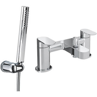 Image of Bristan Frenzy Deck-Mounted Bath / Shower Mixer Tap