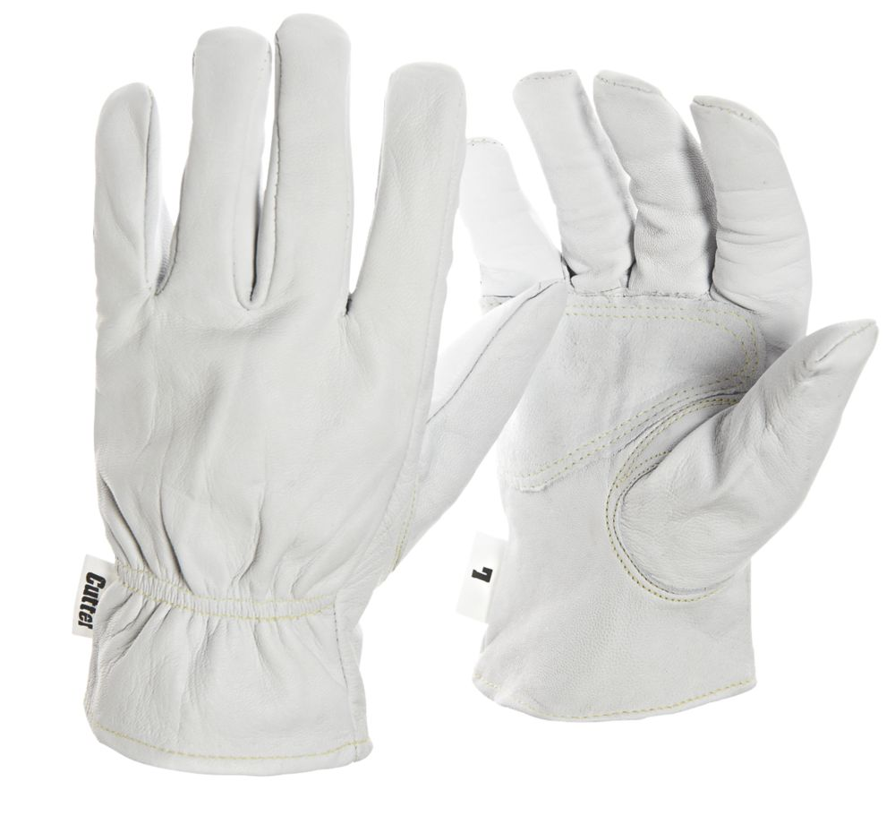 Image of Cutter CW100 Work Gloves White Large