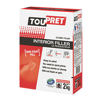 Image of Toupret Powdered Interior Filler 2kg