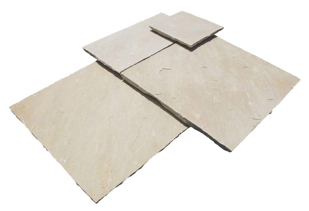 Image of Strata Stone Whitchurch Mint 600 Series Patio Kit 15.25m