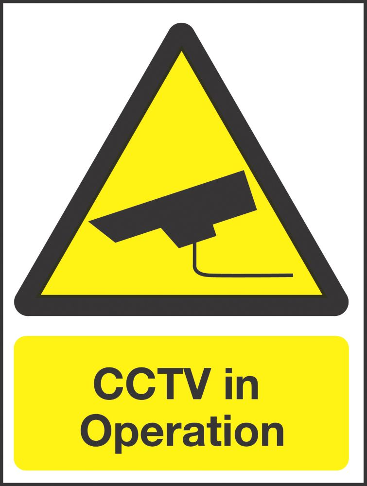 """Image of CCTV In Operation"""" Sign 200 x 150mm"""
