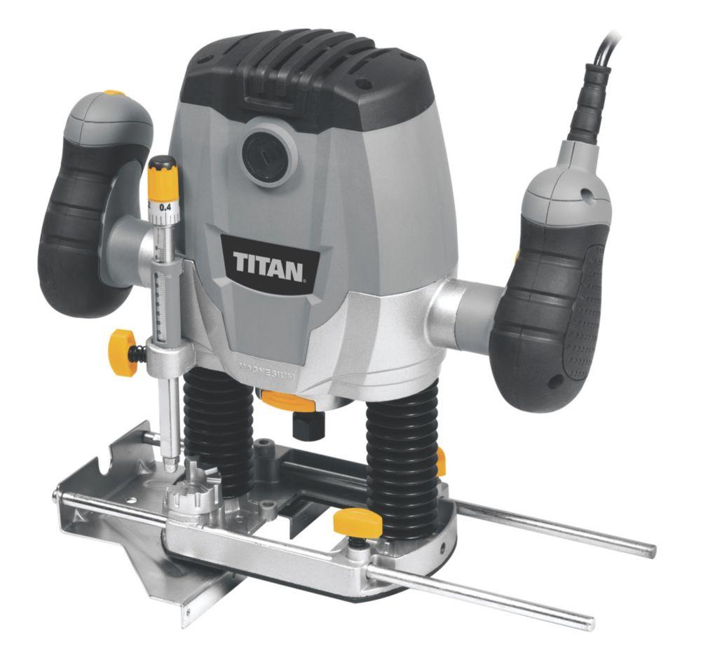 "Image of Titan TTB591ROU 1250W "" Router 240V"