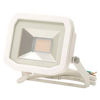 Image of Luceco LFS12W130 LED Slim Floodlight White 15W
