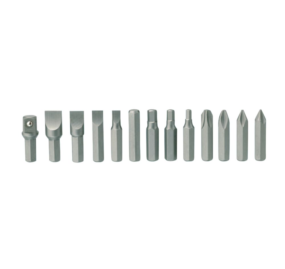 Image of Teng Tools ID515 Impact Driver Bit Set 13 Pieces