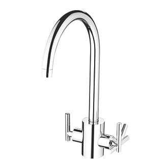 Image of Bristan Artisan Pure Sink-Mounted Mono Mixer Kitchen Tap Chrome