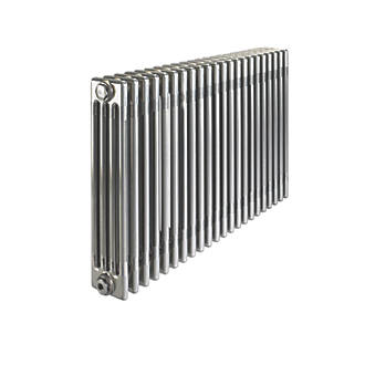 Image of Acova 4-Column Horizontal Designer Radiator 600 x 1042mm Raw Metal