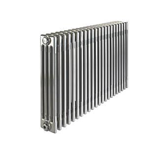 Image of Acova 4-Column Horizontal Designer Radiator 600 x 1042mm Raw Metal