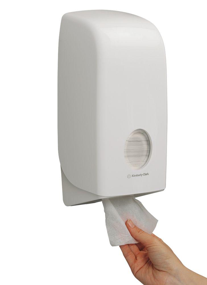 Image of Kimberly-Clark Professional White Aquarius Folded Toilet Tissue Dispenser