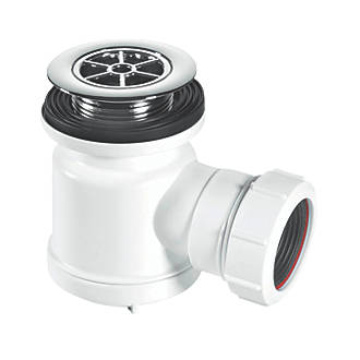 Image of McAlpine Shower Trap White 40mm