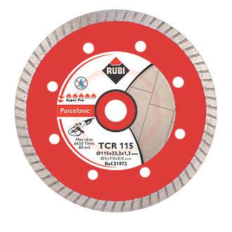 Image of Rubi Diamond Tile Blade 115 x 22.2mm