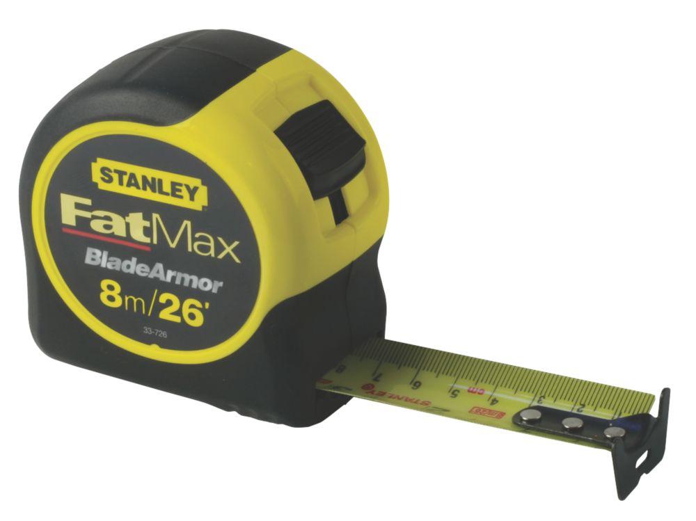 Image of Stanley FatMax 0-33-726 8m Tape Measure