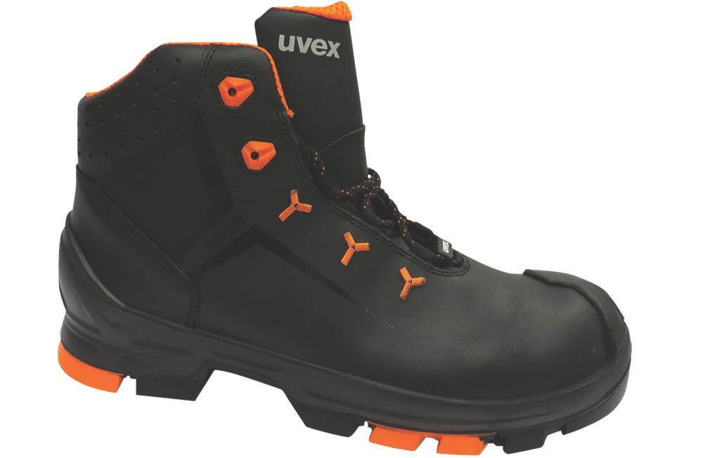 Image of Uvex 2 Safety Boots Black Size 8