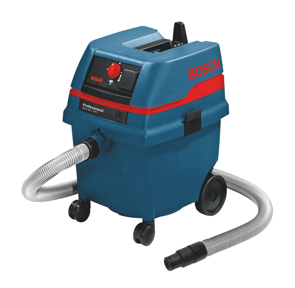 Image of Bosch GAS25L SFC 61Ltr/sec Wet & Dry Dust Extractor 230V