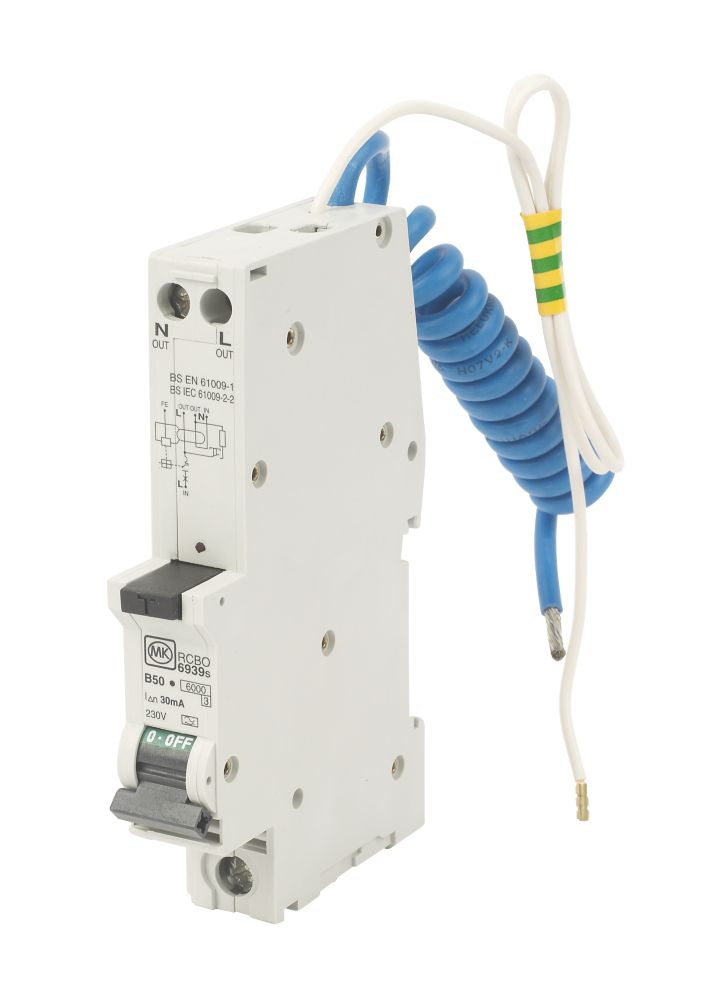 Image of 50A 30mA SP RCBO