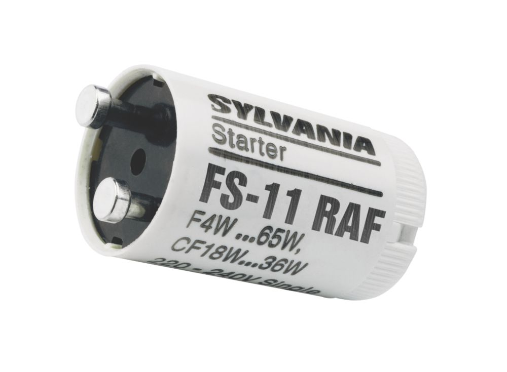 Image of Sylvania 4-65W White Fluorescent Starter 5 Pack