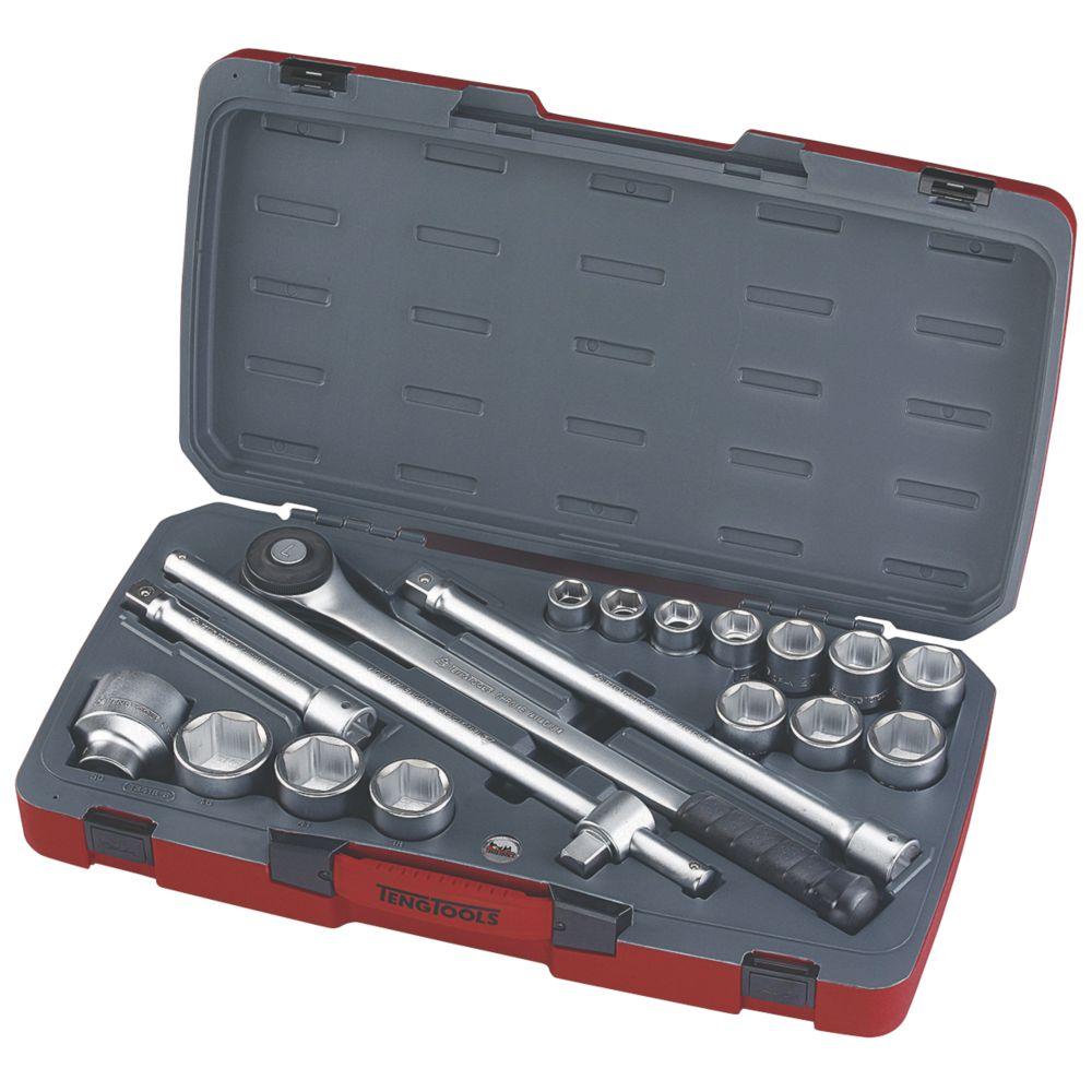 """Image of Teng Tools """" Socket Set 18 Pieces"""