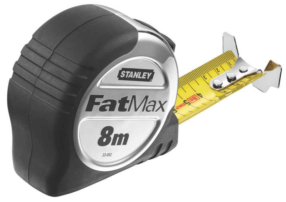 Image of Stanley FatMax 0-33-892 8m Tape Measure