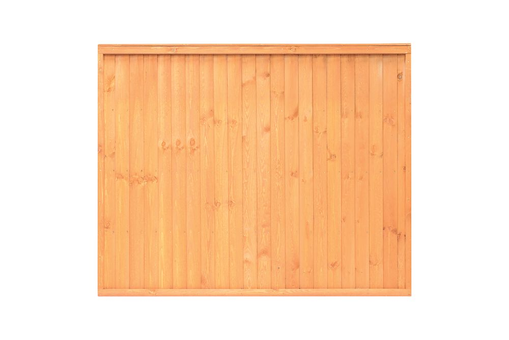 Image of Grange Closeboard Fence Panels 1.83 x 1.5m 3 Pack