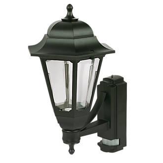 Image of ASD Black BC PIR Coach Lantern Wall Light